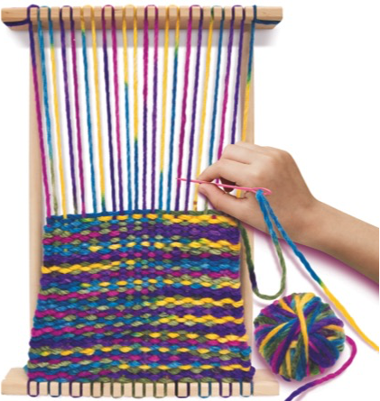 WeavingLoomInAction