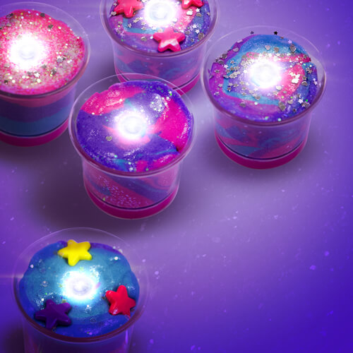 Galactic Gel Candles