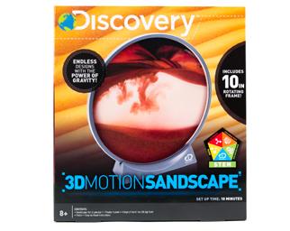 3D Motion Sandscape