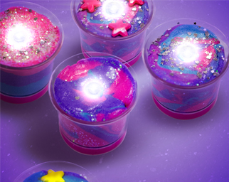 Galactic Slime Candles