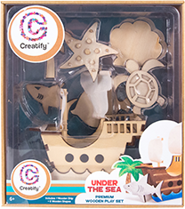 Creative Child: 2016 Preferred Choice Award, Creative Wooden Crafts Category
