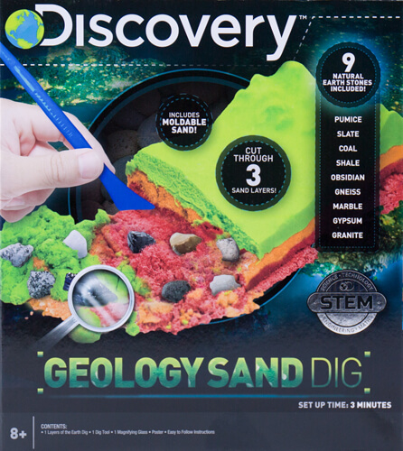 Discovery Kids Geology Sand Dig