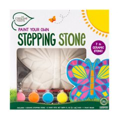 Paint You Own Butterfly stepping stone