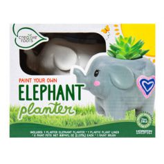 Paint Your Own Elephant Planter
