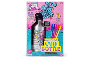 Your Décor Color Your Own Water Bottle – Best Toys & Gifts for 7 Year Old Girls - Heavy