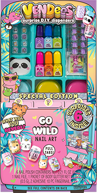 Vendees Go Wild! Nail Art