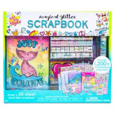 Magical Glitter Scrapbook Set