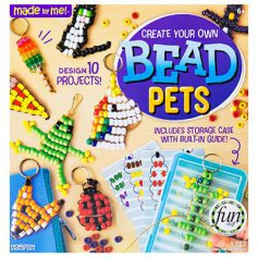 Create Your Own Bead Pets