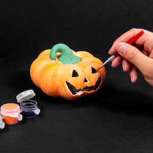Paint Your Own Ceramic Pumpkin