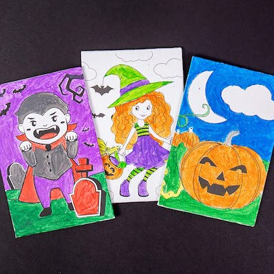 Halloween Paint By Number