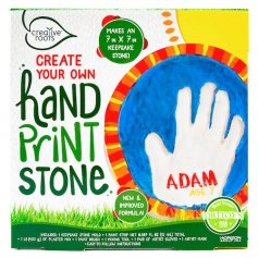 Create Your Own Handprint Stone