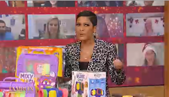 Spreading Holiday Cheer on The Tamron Hall Show