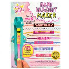 Name Bracelet Maker