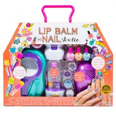2-in-1 Lip Balm & Nail Art Studio