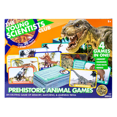Prehistoric Match Game