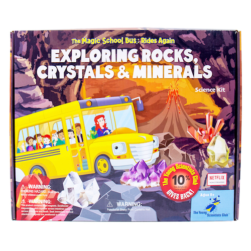 Exploring Rocks, Minerals & Crystals