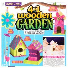 4-in-1 Wooden Garden