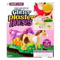 Paint & Display Glitter Plaster Horses